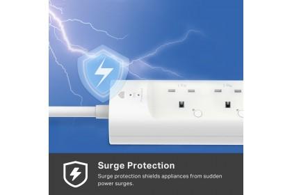 TP-Link KP303 Kasa Smart Wi-Fi Power Strip  3-Outlets