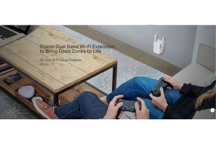 TP-Link RE305 AC1200 Wi-Fi Range Extender