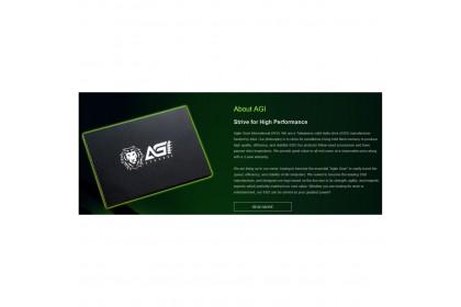 AGI 256GB / 512GB / 960GB 2.5inch TLC SATA 3 SSD