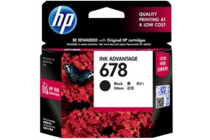 HP 678 Black & Tri-Colour Ink Cartridge - Combo With PaperOne A4 PaperHP 678 Black / Tri-Colour / (1+1) HP 678 Black+Tri-Colour Ink Cartridge / Combo With PaperOne A4 Paper