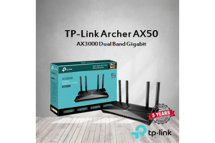 TP-Link Archer AX50 AX3000 Dual Band Gigabit WiFi 6 Wireless Router