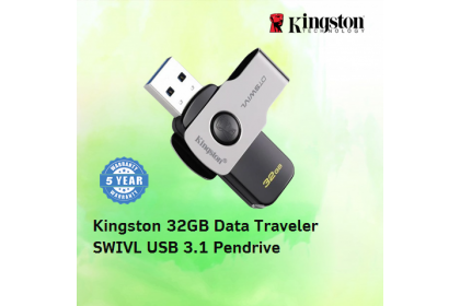 KINGSTON 32GB DATA TRAVELER SWIVL USB 3.1 PENDRIVE (DTSWIVL/32GB)