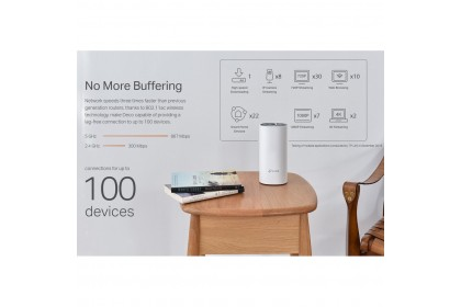 TP-Link Deco E4 AC1200 Mesh WiFi Router Whole Home Wi-Fi System